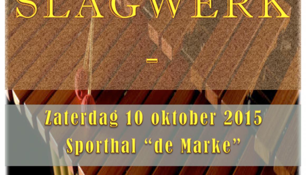 Flyer Slagwerkevent 2015 (1)
