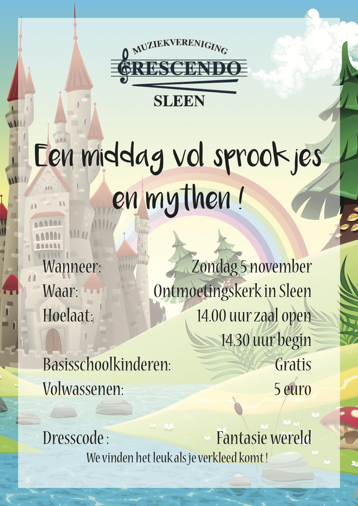Poster Cresendo sprookjes mythen