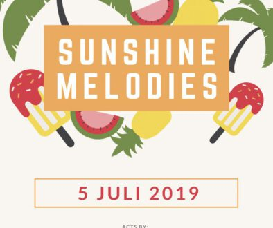 Sunshine melodies poster